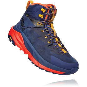 Hoka One One Kaha GTX Botas Hombre, patriot blue/mandarin red
